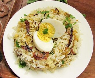 Egg Biriyani Recipe - How To Make Egg Biriyani