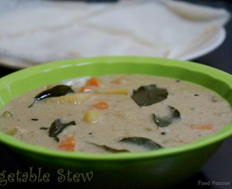 Vegetable Stew(Kerala style) with Coconut Milk