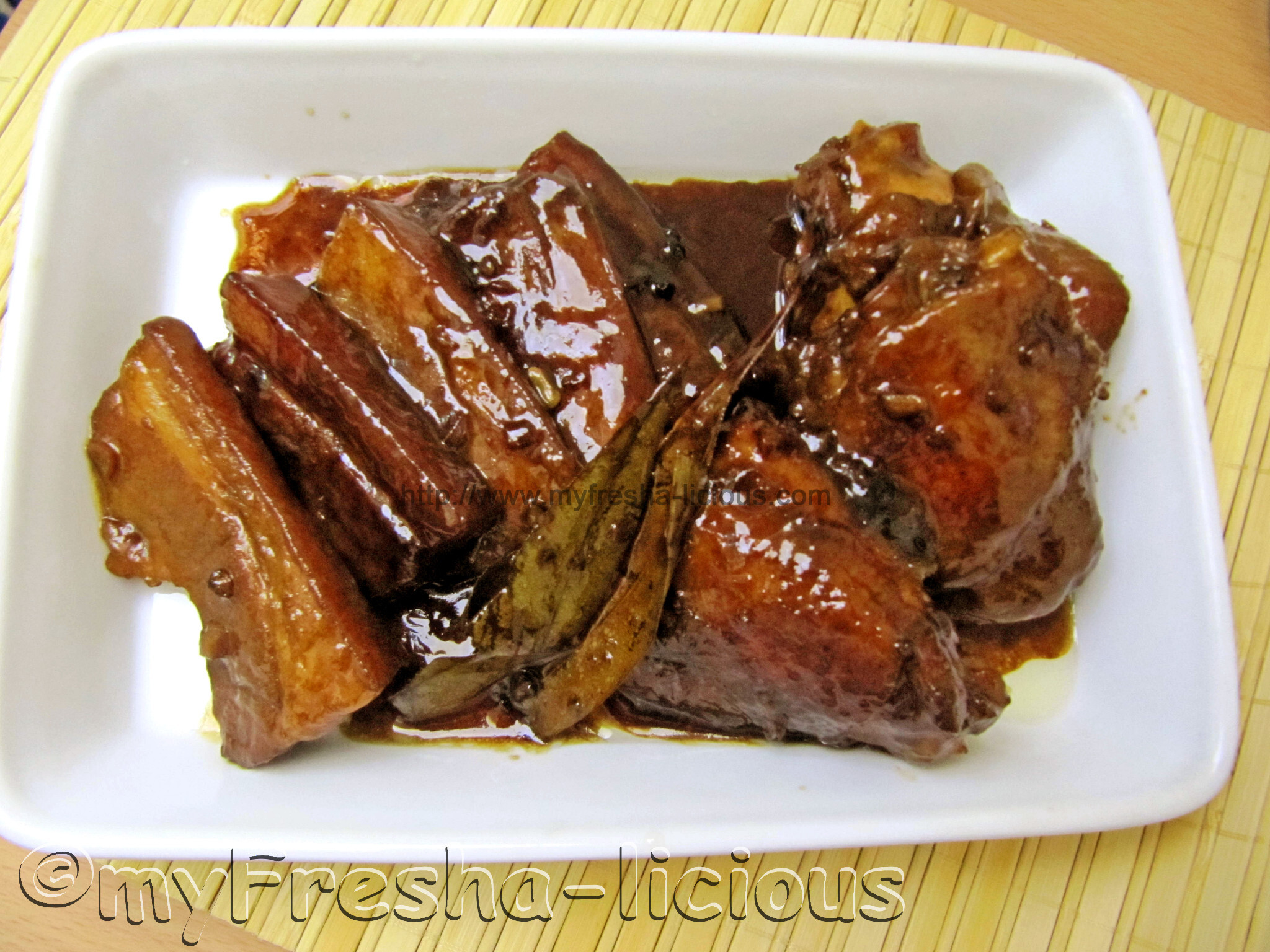 Chicken Pork Adobo with 7UP
