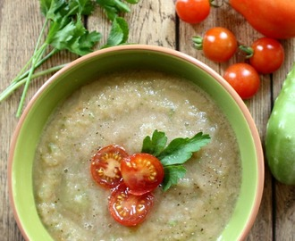 Delicious Raw Garden Vegetable Soup Recipe That's Paleo