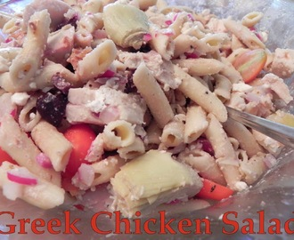 Fake It  >>  Greek Chicken Salad with Roasted Chicken