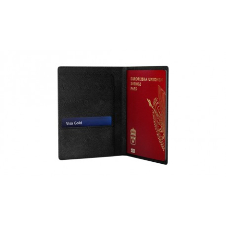 iDeal Of Sweden iDeal Passport Cover - Svart - iDeal Of Sweden
