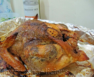 Roasted Chicken ala PizzalChick