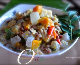 Special Olan Recipe – Stewed Brown Cow Peas and Vegetable in Coconut Milk