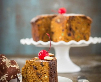 Rich Christmas Fruit Cake with Garam Masala / Kerala Plum Cake