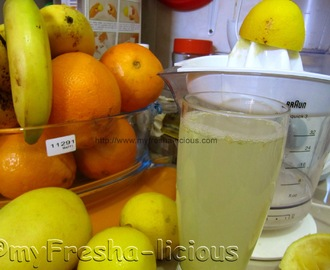 Lemon and Apple Cider Vinegar Juice