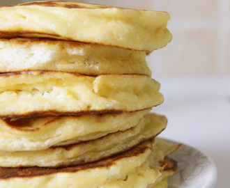 Pancakes alla ricotta  (ded. to: Francy)