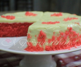 ♥ A Delectable ... Red Velvet Cake