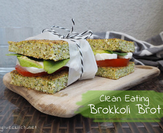 {Clean Eating} Brokkoli Brot
