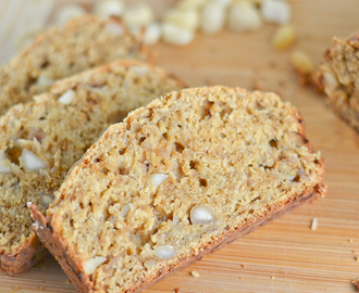 Banana Macadamia Nut Bread