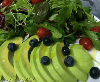 Sliced Avocado Appetizer