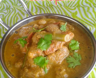 VEGETABLE KOLHAPURI I NORTH INDIAN GRAVY I SIDE DISH FOR CHAPATHI/NAAN