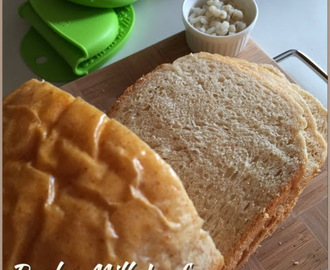 Barley Milk Wholemeal Bread (breadmaker )