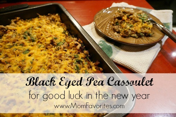 Comment on Good Luck Cooking: Black Eyed Pea Cassoulet for the New Year by January 2015 MomFavorites.com Monthly Menu
