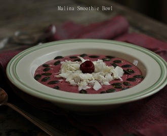 Malina Smoothie Bowl / Raspberry Smoothie Bowl
