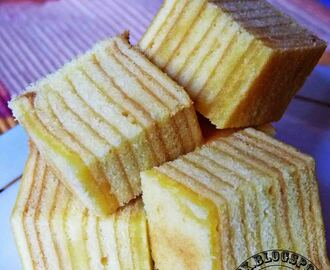 Kek Lapis Keju ( Cheese Layered Cake )
