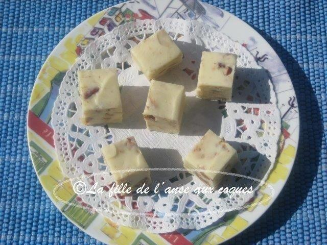 FUDGE D'ÉRABLE BLANC PRALINÉ