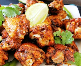 Baked Thai Chicken Wings