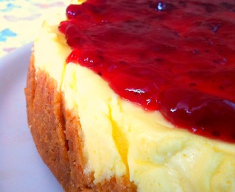 CHEESECAKE CON CRANBERRY