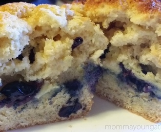 Homemade Blueberry Biscuits