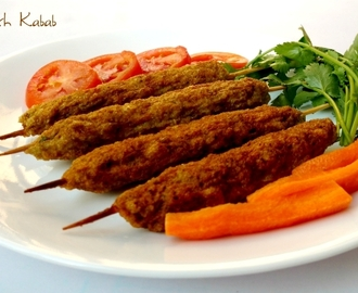 Easy Chicken Seekh Kabab Recipe | How to Make Chicken Seekh Kabab without Oven