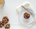 Snickers Muffins van Havermout