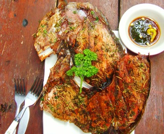 Grilled Fish Jaw