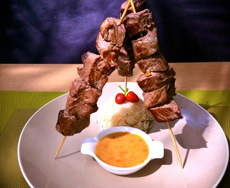 Satay Beef – what could be simplier or yummier? Recipe by in the mood for food by Jay