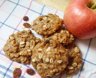 Breakfast Cookies: Apple Oatmeal Cookies