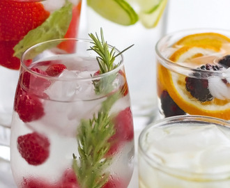25 Kinds of Flavored Water {Detox Water}