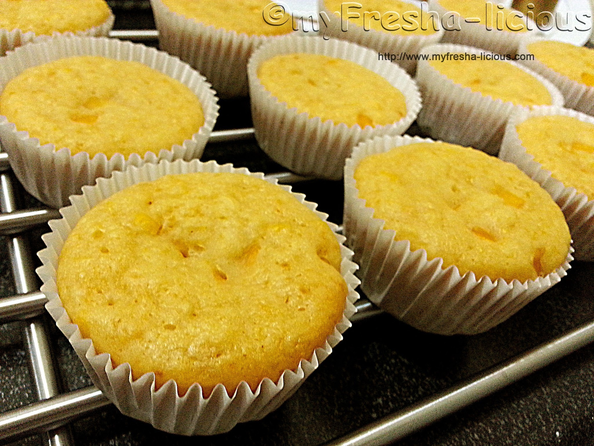 Corn Muffins Using Whole Corn Kernels