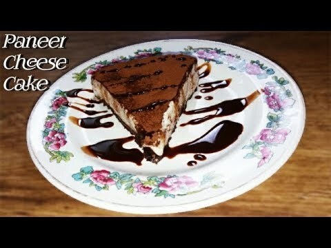 How to Make Paneer Cheesecake Recipe at Home | पनीर चीज़केक | Paneer Cheese Cake in Desi Style