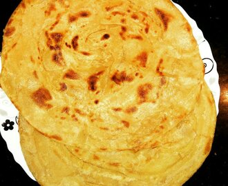Laccha Paratha- Multi-Layered Indian Flat Bread