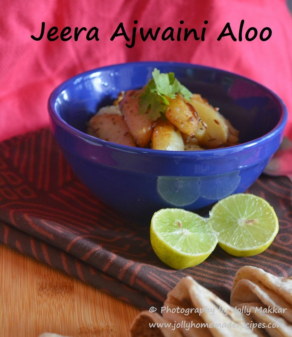 Jeera Ajwaini Aloo Recipe, How to make Ajwaini Jeera Aloo | Easy Potato Veggie