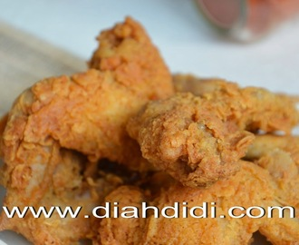 Spicy Fried Chicken.....Ayam Krispi Pedasss...^^