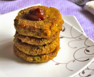 Vegetable Cutlet Recipe | Tea Time Snacks