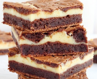Cheesecake brownie bars recipe