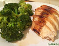 Five Ingredient Chicken with Sweet and Spicy Broccoli