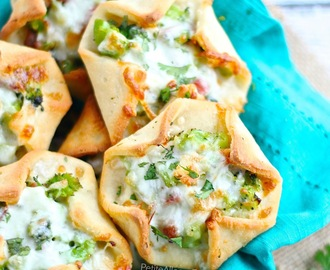 Gluten Free Broccoli Ham N Cheese Crescent Bites (egg free)