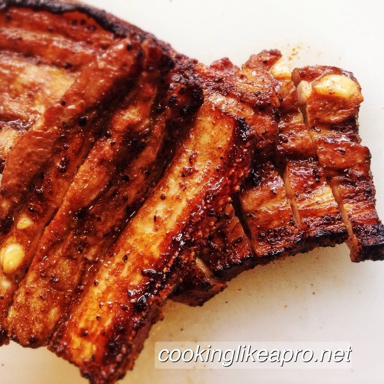 Grilled Chinese Spare Ribs Recipe