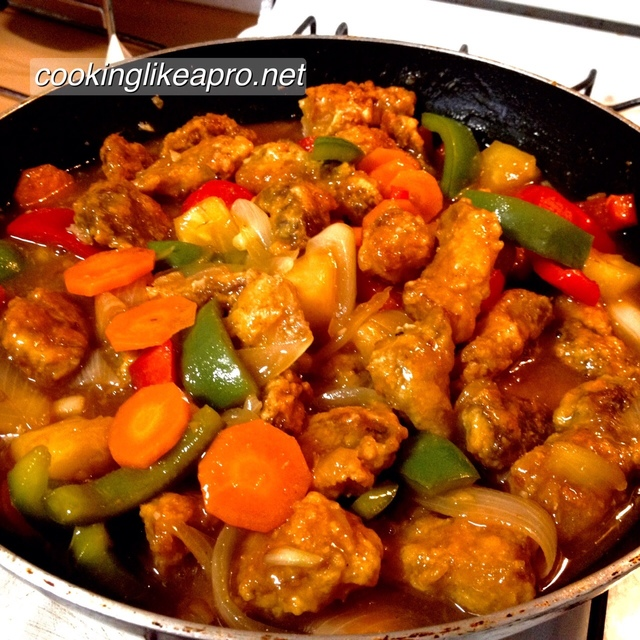 Sweet and Sour Pork Filipino Recipe