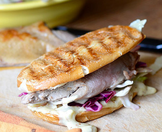 Duck Sandwich with Mustard Aioli