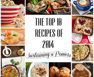 The Top 10 Reader's Choice Recipes in 2014