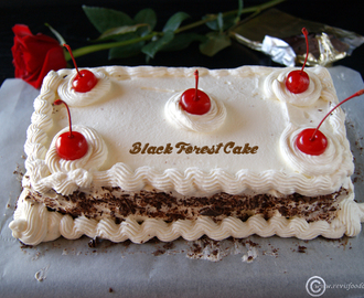 Birthday Special: Eggless Black Forest Cake