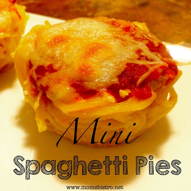 Easy Dinner Idea – Mini Spaghetti Pie Recipe