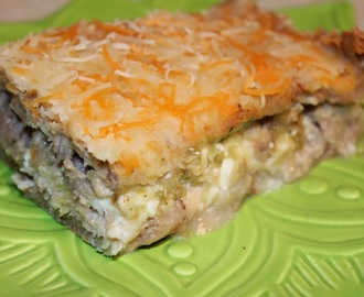 Mexican Dinner Pie (Lasagna)