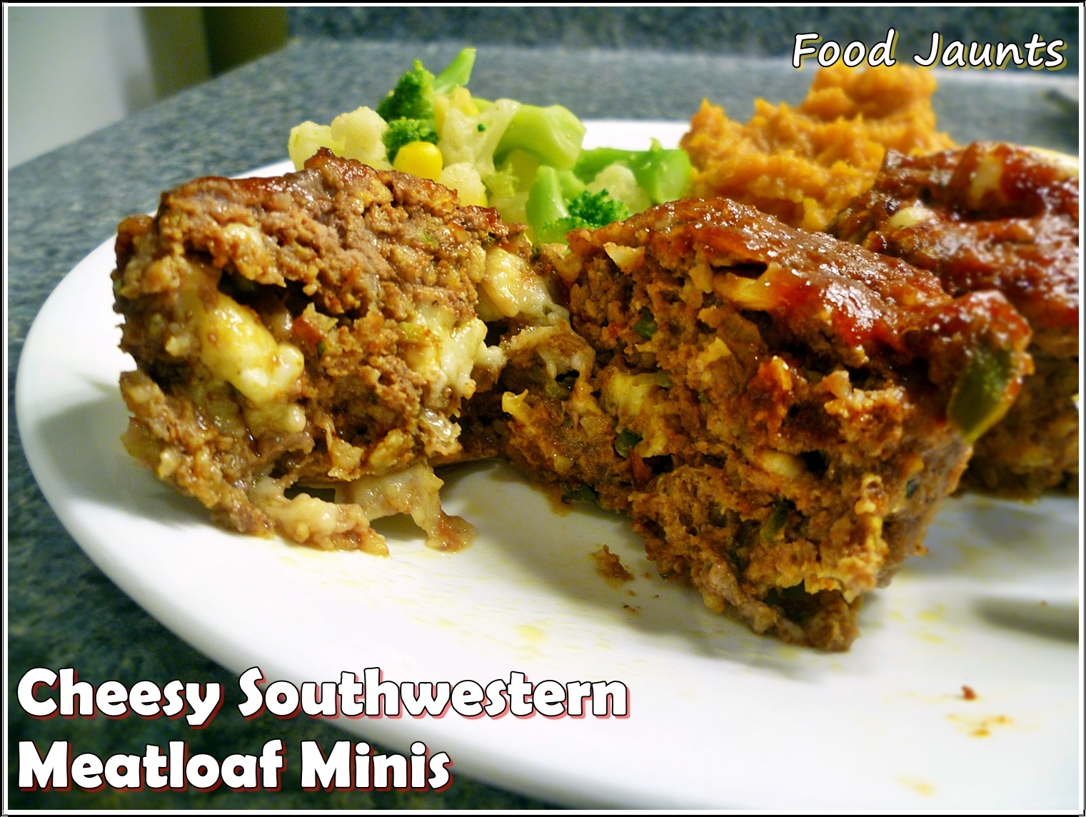 Cheesy Southwestern Meatloaf Muffins