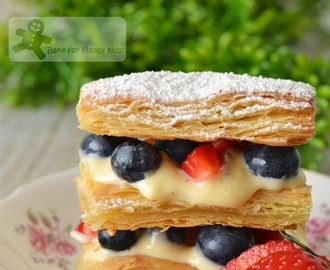 Mille-Feuille with Summer Berries (Sarabeth's Bakery)