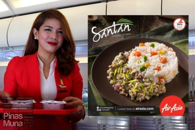 Santan | Philippines AirAsia's New In-Flight Menu