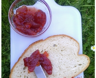 Confiture de coings ( sfarjel/سفرجل)